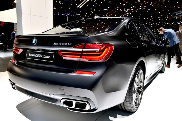 4x4Schweiz-News: Autosalon Genf 2016, BMW 760Li xDrive