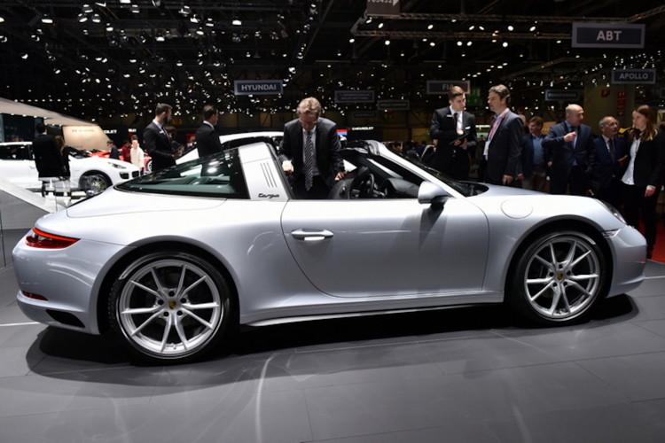 4x4Schweiz-News: Autosalon Genf 2016, Porsche 911 4S Targa