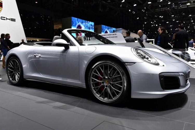 4x4Schweiz-News: Autosalon Genf 2016, Porsche 4S Cabriolet