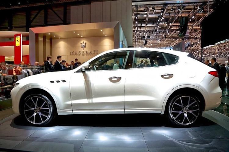 4x4Schweiz-News: Autosalon Genf 2016, Maserati Levante SUV