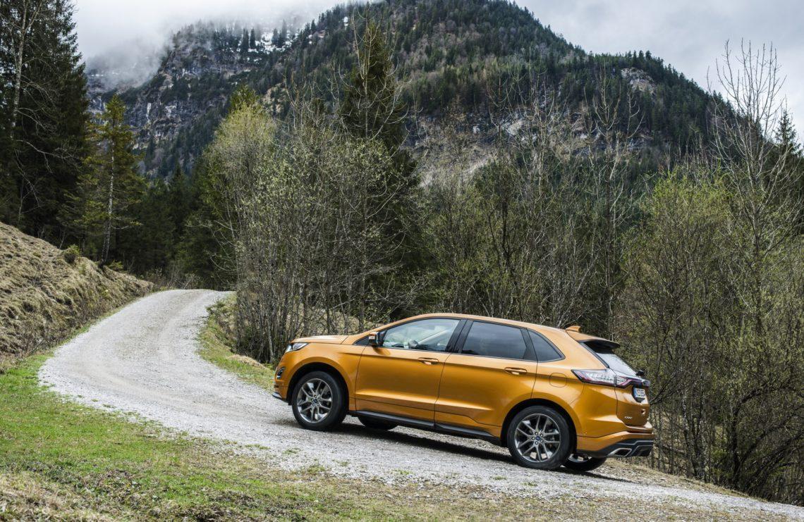 Ford Edge gewinnt goldenes Lenkrad