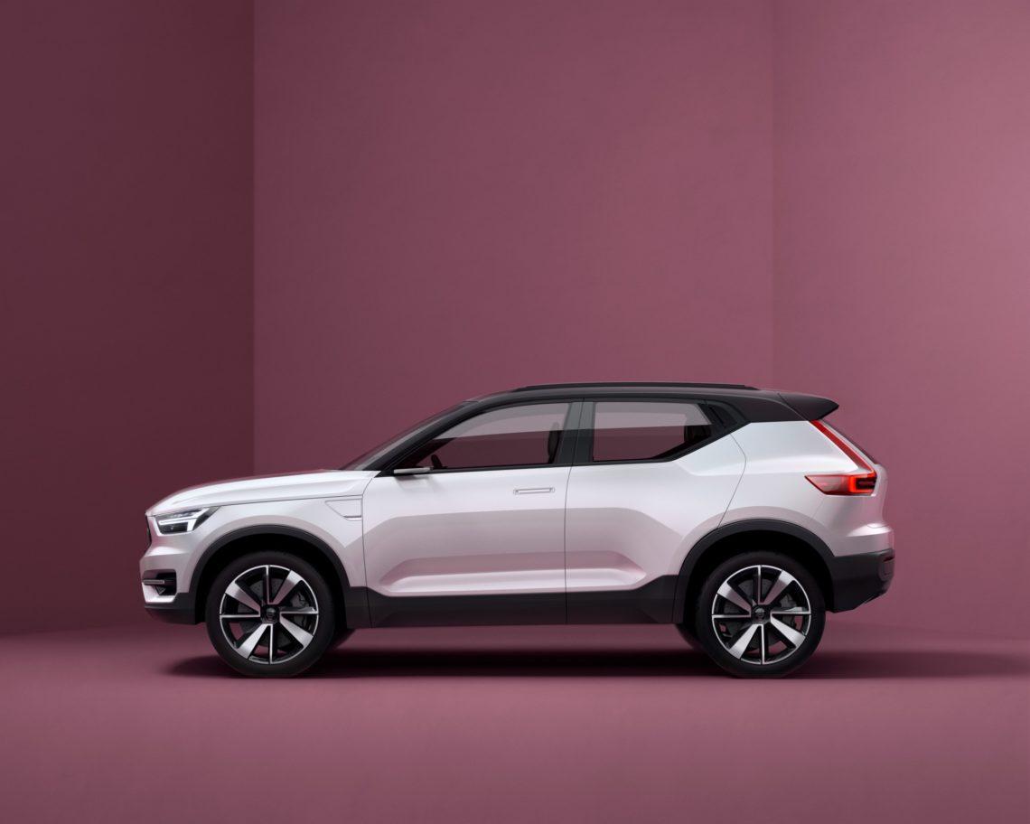 Volvo stellt mit dem XC40 einen Tiguan-Gegner vor.