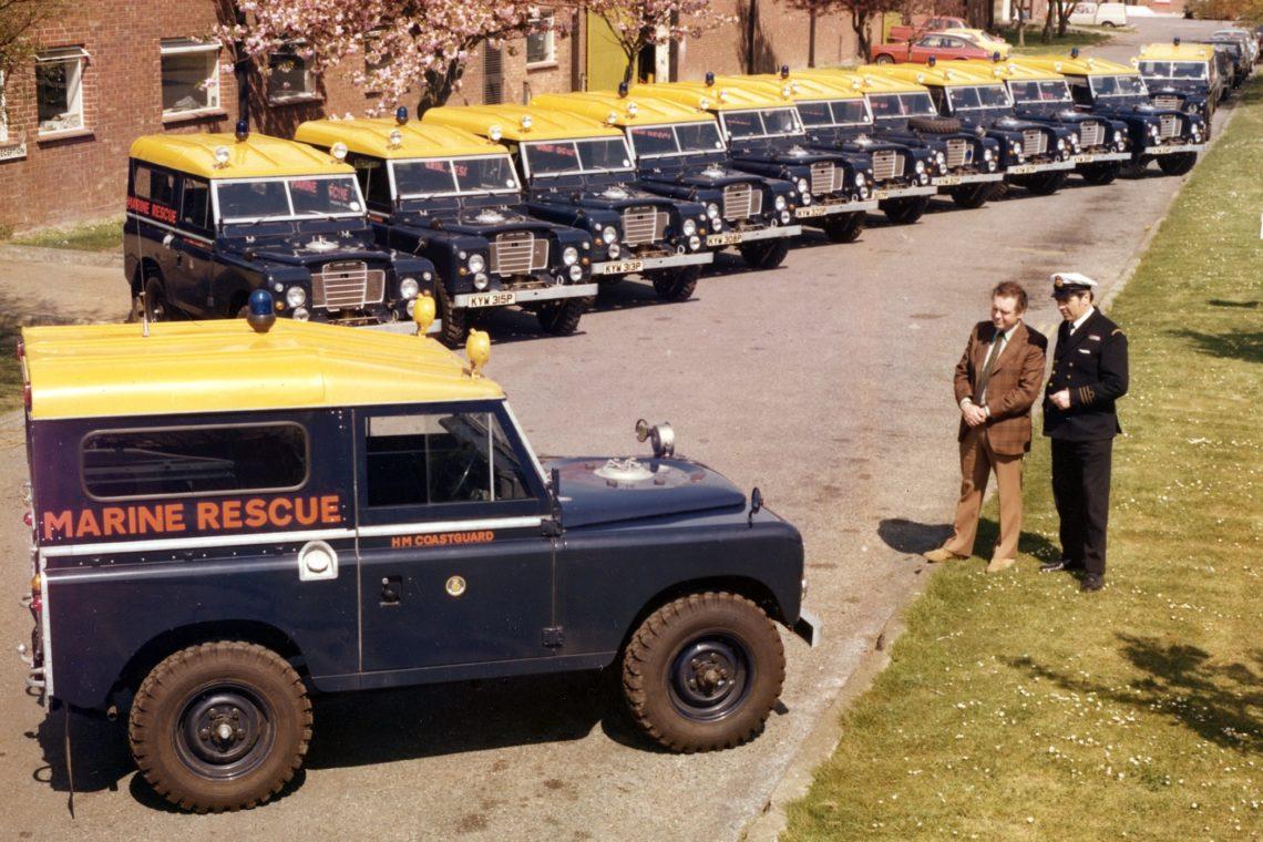 Land Rover Serie I, II, III und der Defender im Überblick