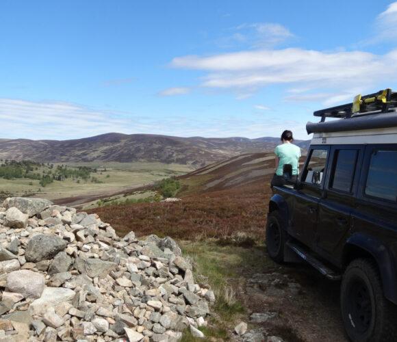 Bodensee-Overlander, Abenteuer Weltreise, Calimero in Schottland
