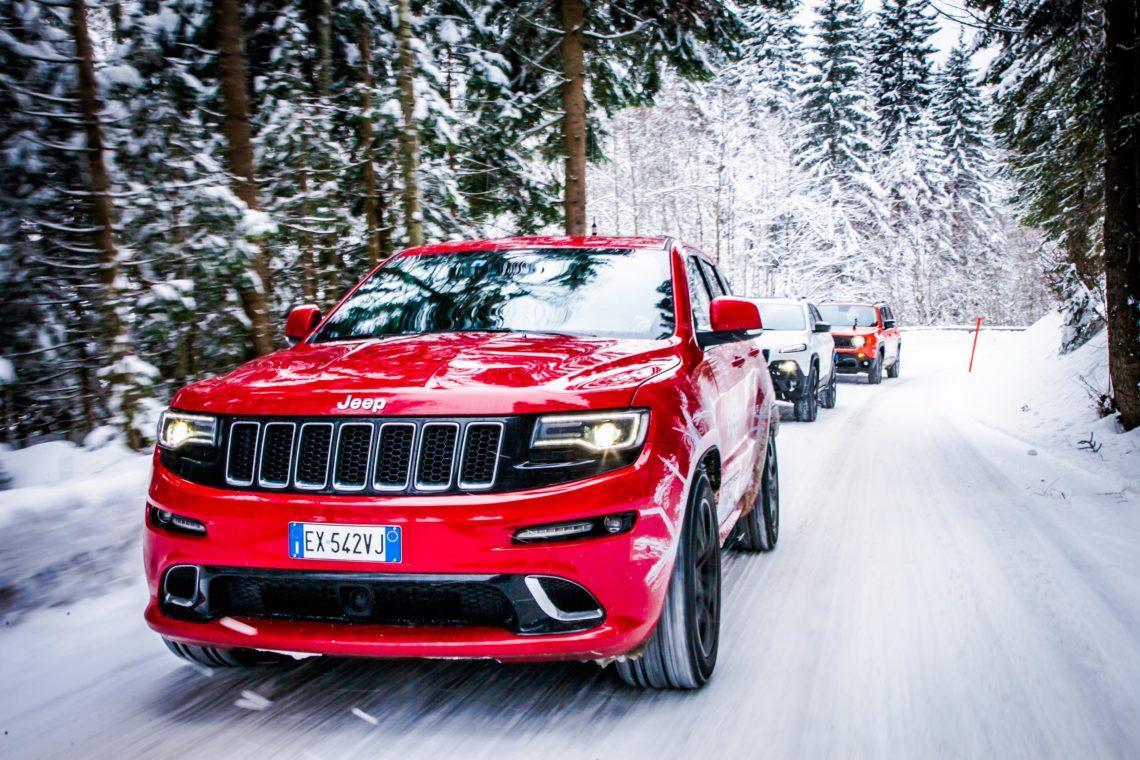 Die Jeep Winterproof Tour 2016