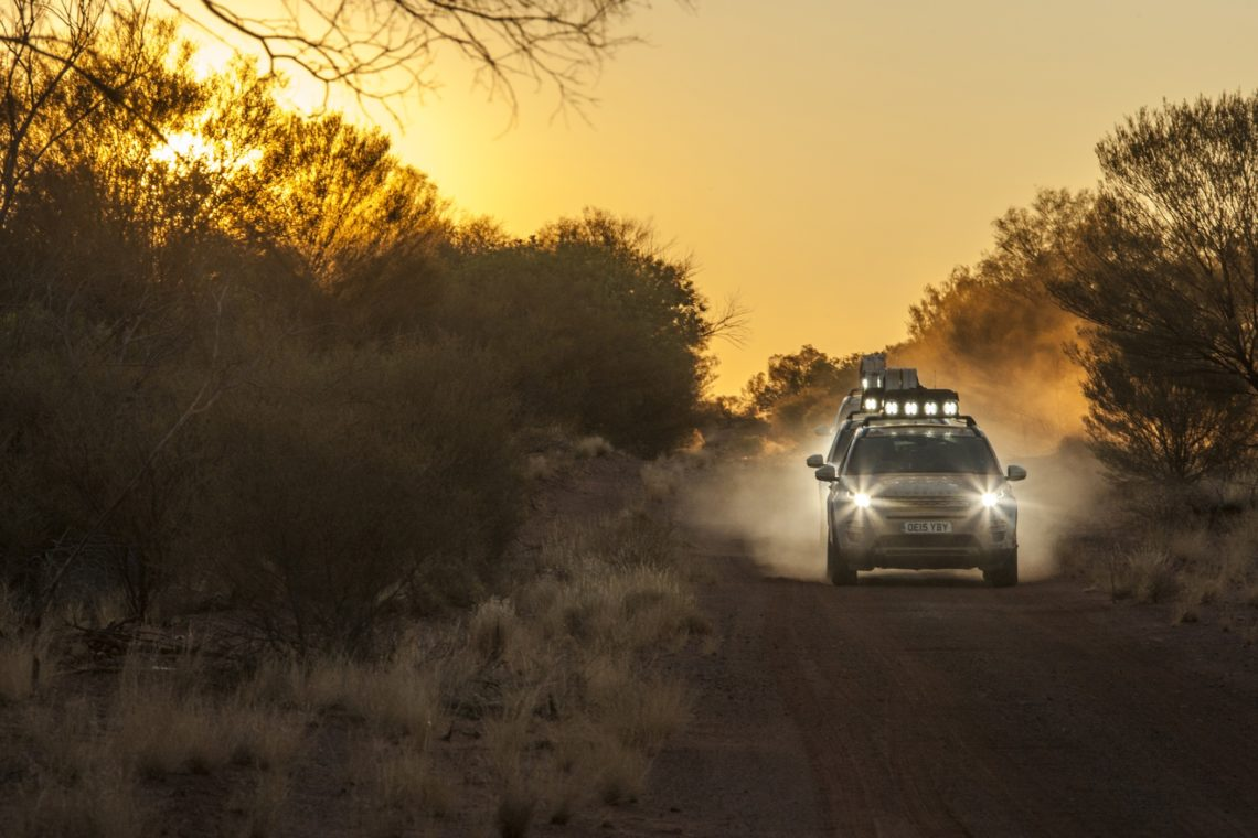 Land Rover Experience Tour 2015
