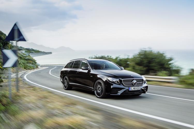 4x4Schweiz-Report: Car-to-X im Mercedes-AMG E 43 4MATIC T-Modell