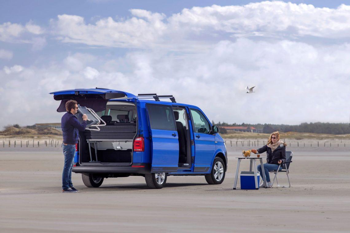 Für die Fahrt ins Blaue: VW Multivan Freestyle