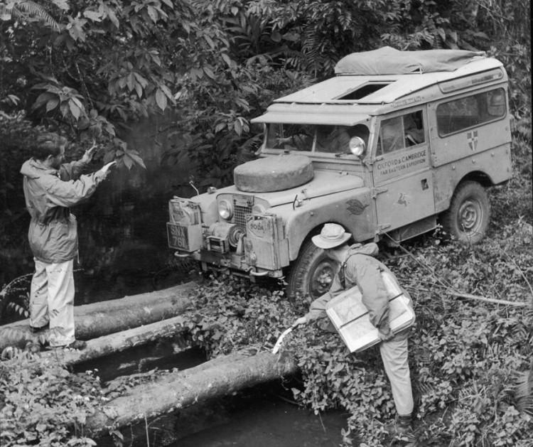 Land Rover: The Oxford & Cambridge Far Eastern Expedition.