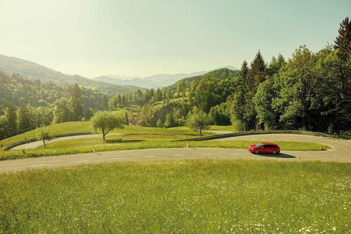 Subaru Levorg: Das Auto schaut mit.