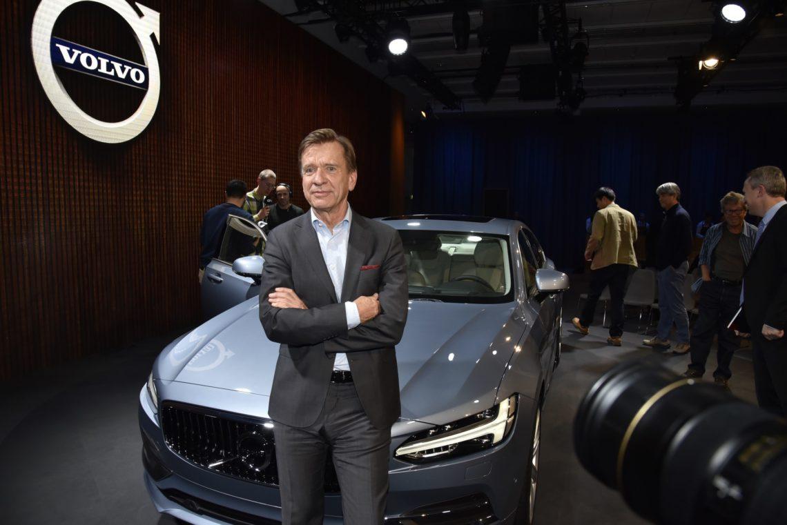 Drei Fragen an Volvo-Chef Håkan Samuelsson.