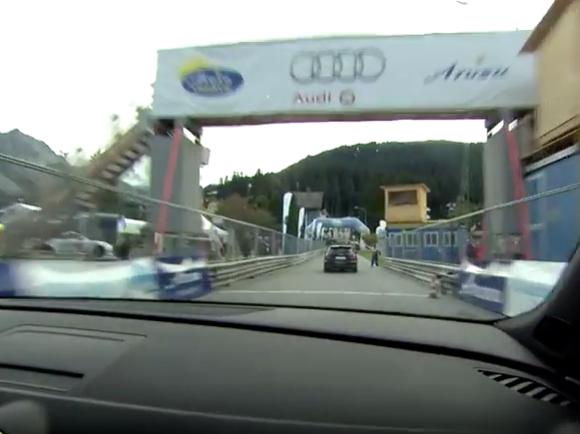 Audi RS Renntaxi an der Arosa ClassicCar 2016