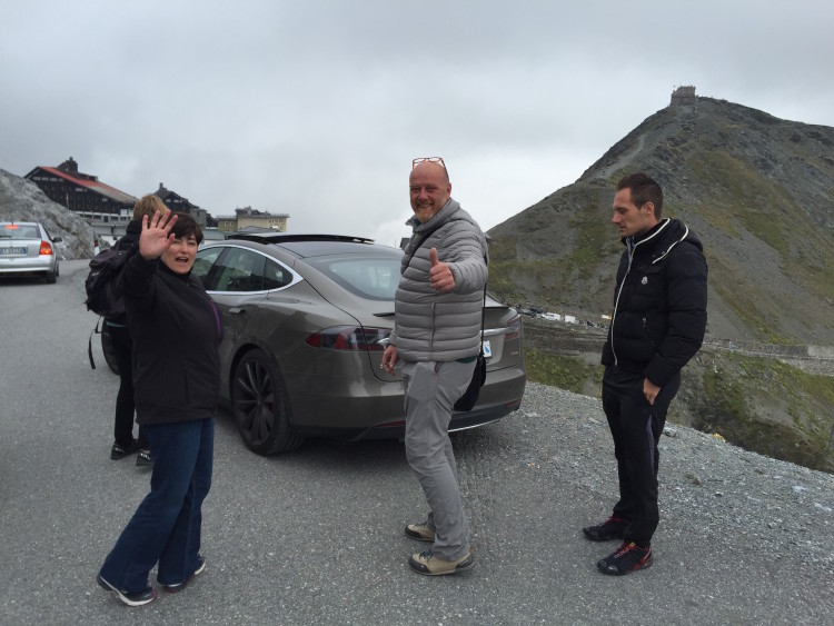 Tesla Model S Roadtrip 2015 Stilfserjoch2