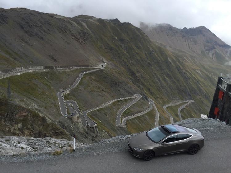 Tesla Model S Roadtrip 2015 Stilfserjoch8