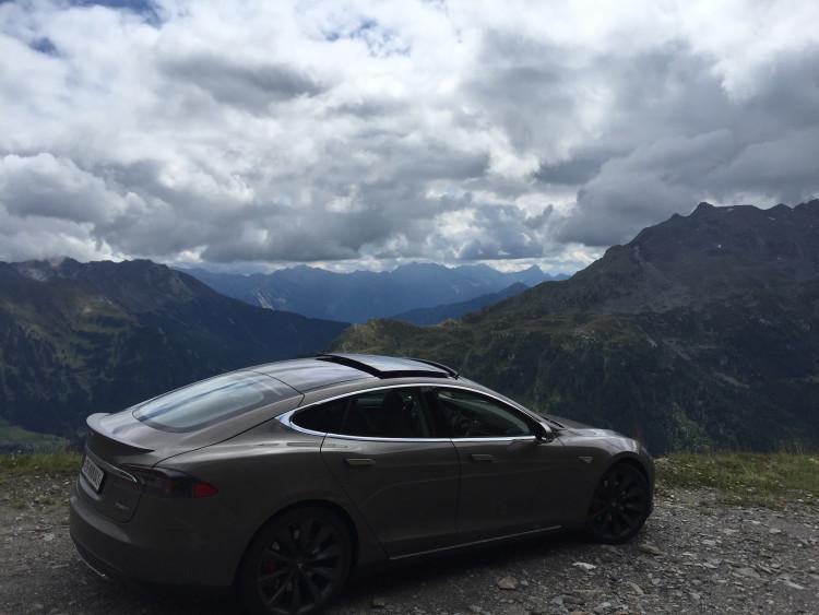 Tesla Model S Roadtrip 2015 Timmelsjoch8