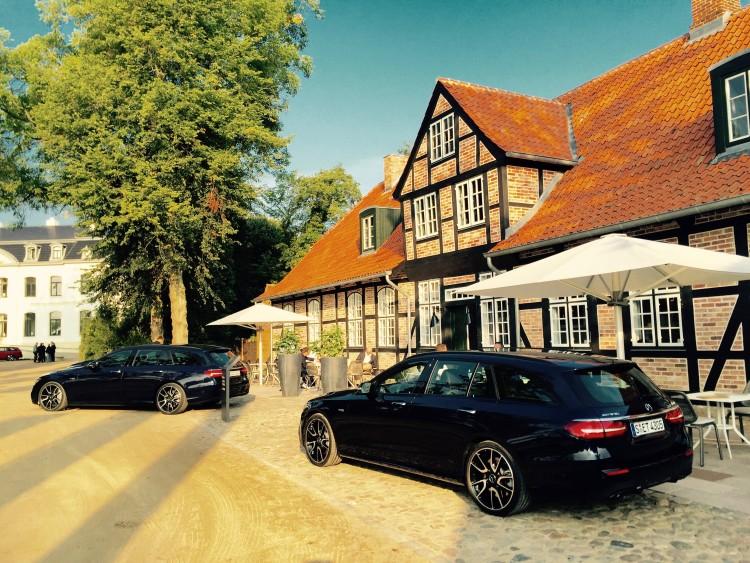 Mercedes-Benz, E-Klasse T-Modell E 220 d 4MATIC Heck