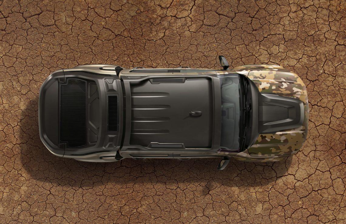 So könnte der Militär-Jeep der Zukunft aussehen: Chevrolet Colorado ZH2 Fuel Cell
