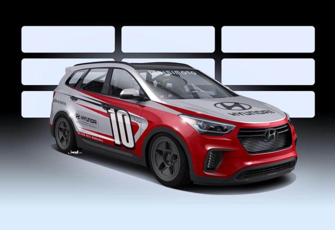 Hyundai zeigt eine Rennversion des Santa Fe