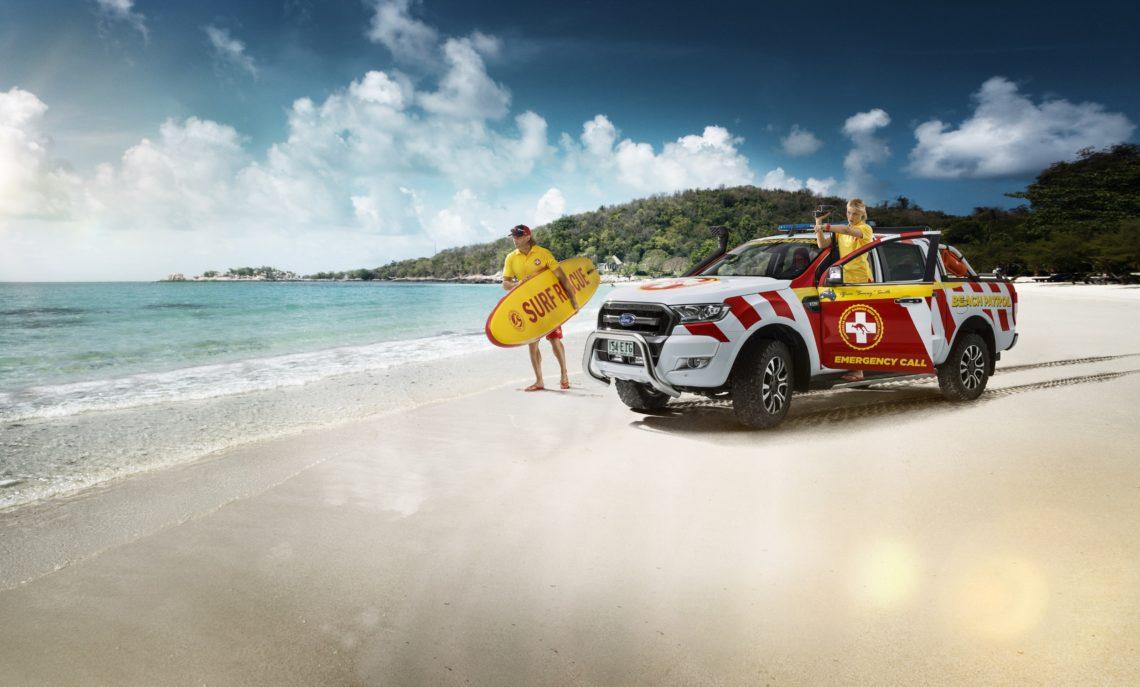 Ford Ranger Great Barrier Reef Beach Patrol