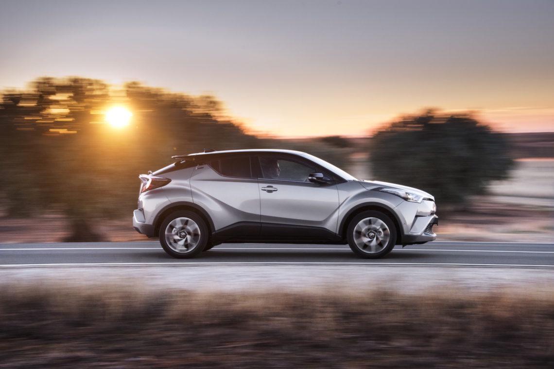 Optische Kampfansage: Toyota C-HR mit Allradantrieb