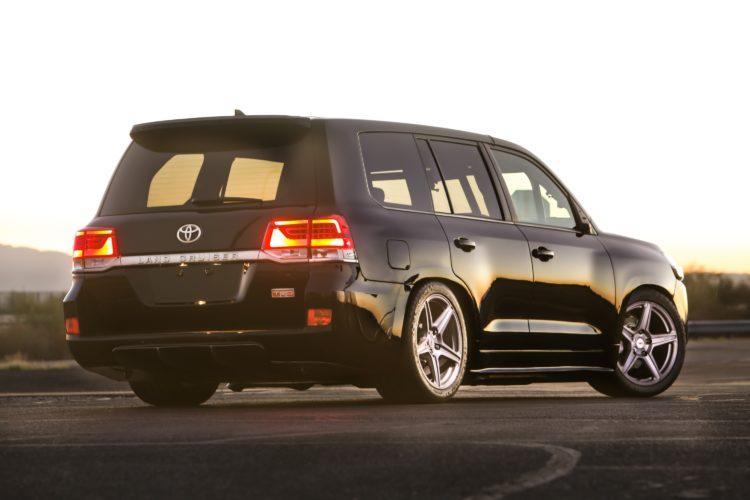 Mit dem Land Speed Cruiser will Toyota einen neuen Geschwindigkeitsrekord für SUVs aufstellen