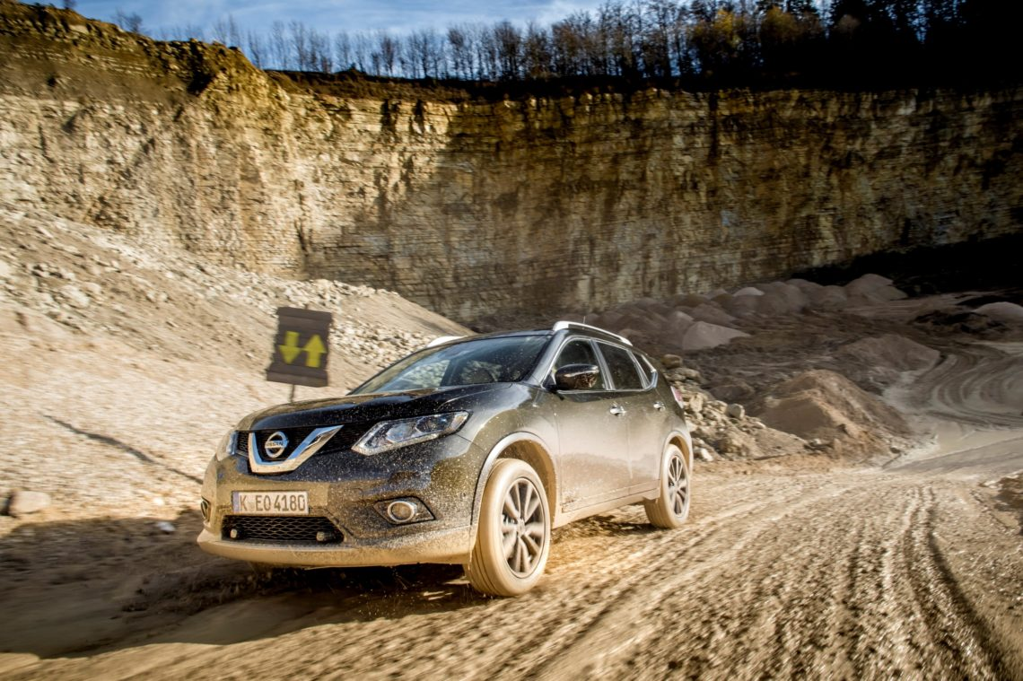 Nissan X-Trail: mit dem Familien-Offroader auf Abwegen.