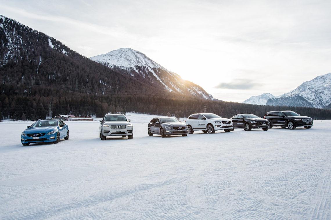 Sicher durch den Winter – mit einem Volvo Winterfahrtraining