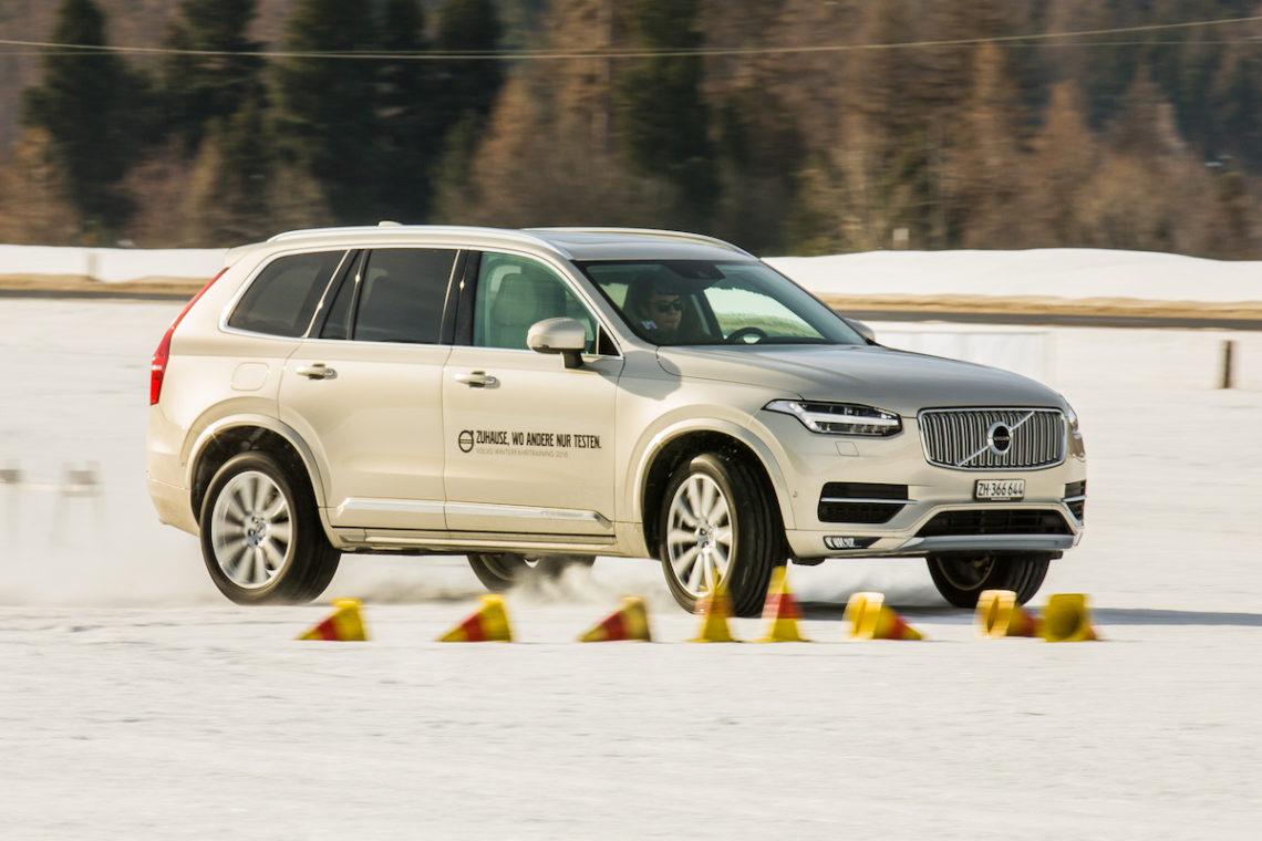 Gewinne ein Volvo Winterfahrtraining für 2 Personen