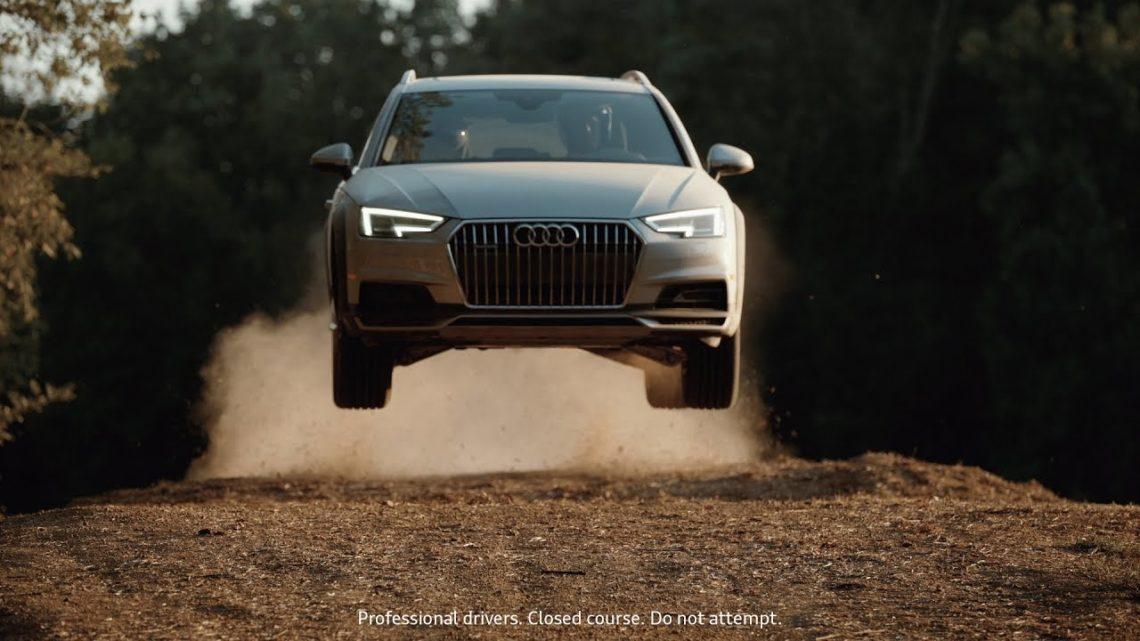 Audi A4 Allroad. A little dirt never hurt.