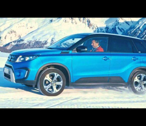 Schnee, Berg, keinen Lift? Aber einen Suzuki Vitara 4×4?