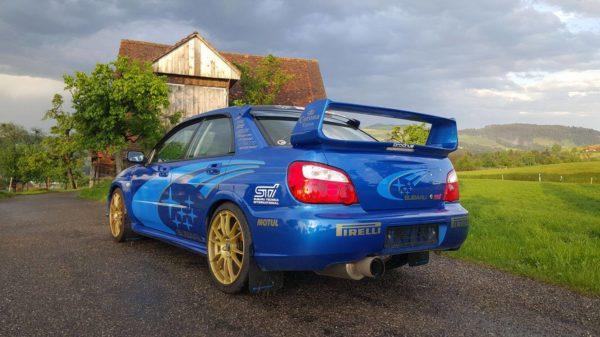 Der Subaru Impreza WRX STi vom Rene: https://www.facebook.com/rene.lang.96