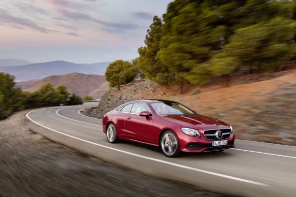 Mercedes zeigt in Detroit das Coupé der E-Klasse