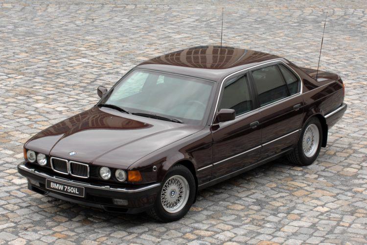 BMW 750iL der Generation E32 in der gepanzerten Ausführung