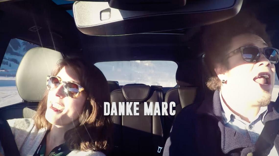 Ein Roadtrip mit Marc Sway im Volvo XC90