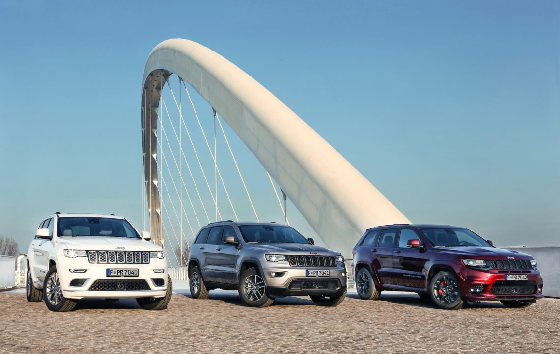 Jeep Grand Cherokee Facelift 2017.