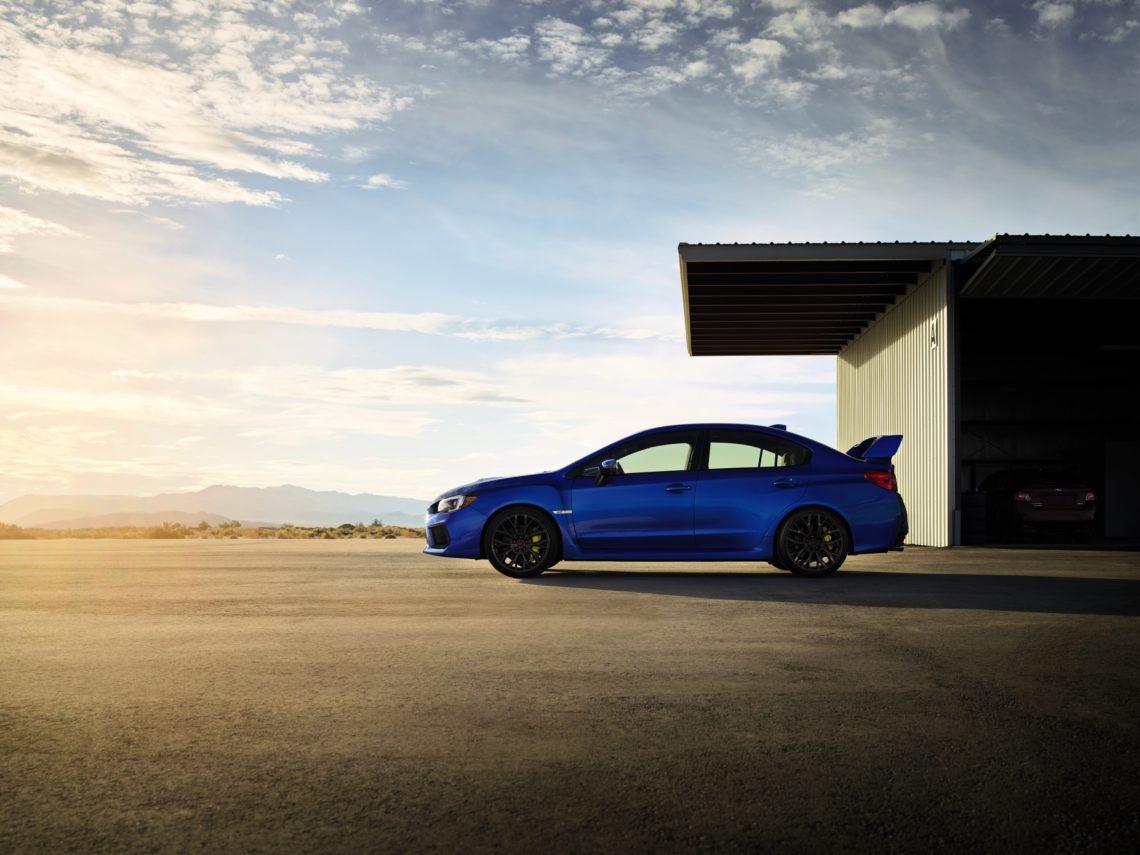 Subaru WRX STi mit neuem Kampfgesicht