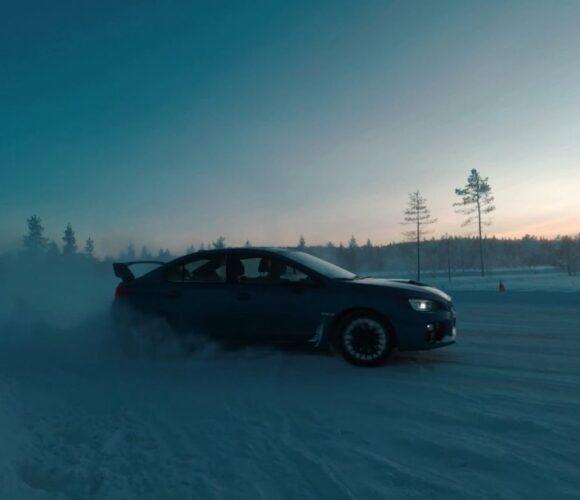 Subaru on the rocks: Snow Drive 2017