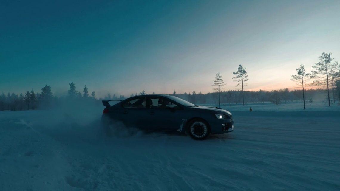Subaru on the rocks: Subaru Snow Drive 2017