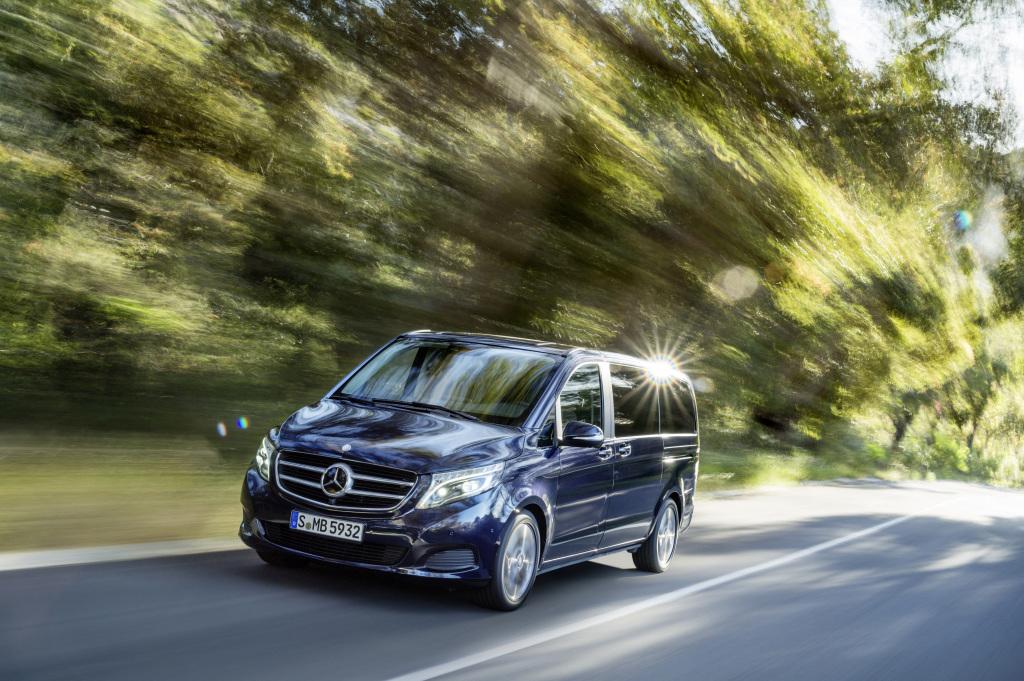 Fahrbericht Mercedes-Benz V-Klasse Exclusive V250 d 4MATIC