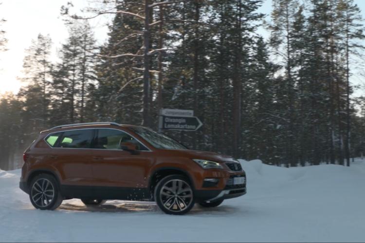 4x4Schweiz-Fahrbericht: Seat Ateca 1,4 EcoTSI 4Drive Lappland Front