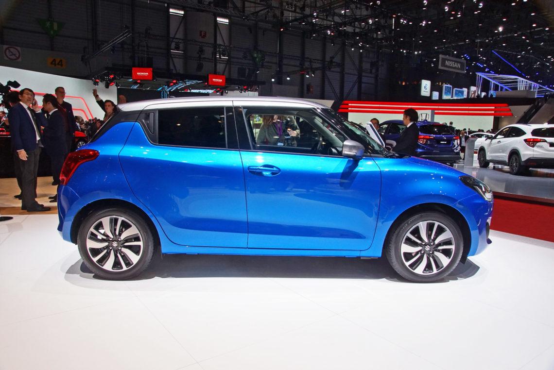 Der neue Suzuki Swift 4×4 (2017) hat nochmals kräftig abgespeckt.