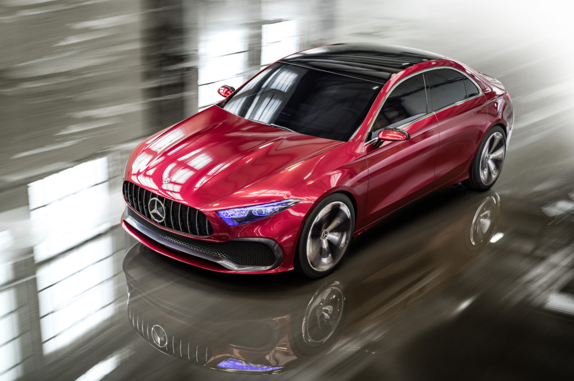 Erster A-usblick: Mercedes Concept A Sedan
