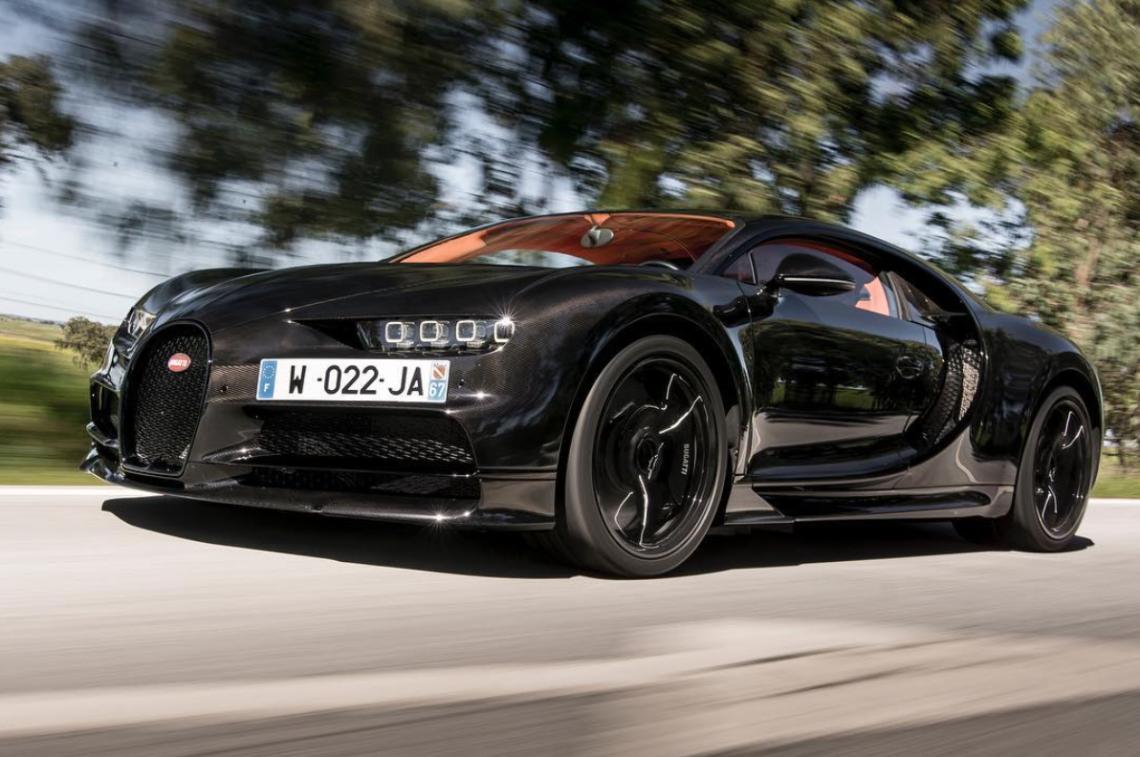 Fuckin' hell: Bugatti Chiron