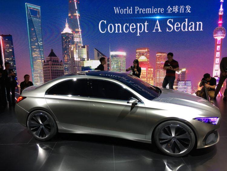 4x4Schweiz-News:Mercedes zeigt den Nachfolger der A-Klasse in Shanghai, dasMercedes Concept A Sedan