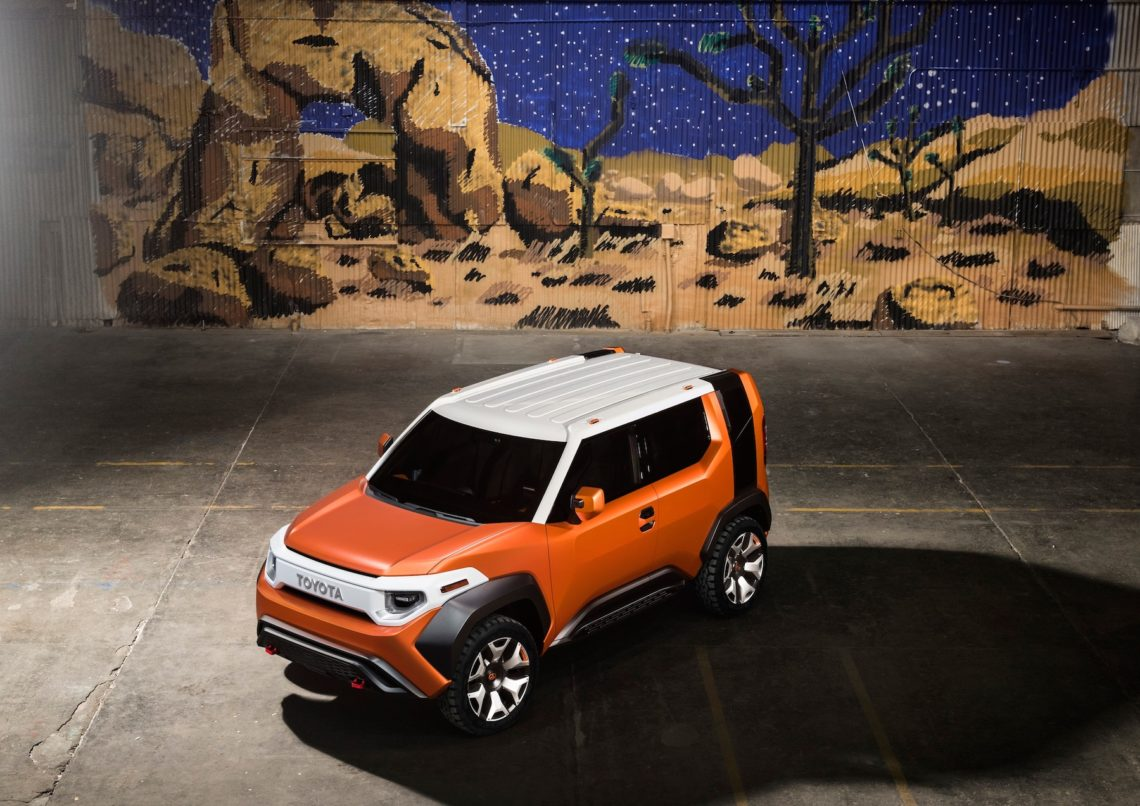 Raus aus dem Alltag: Toyota FT-4X Concept