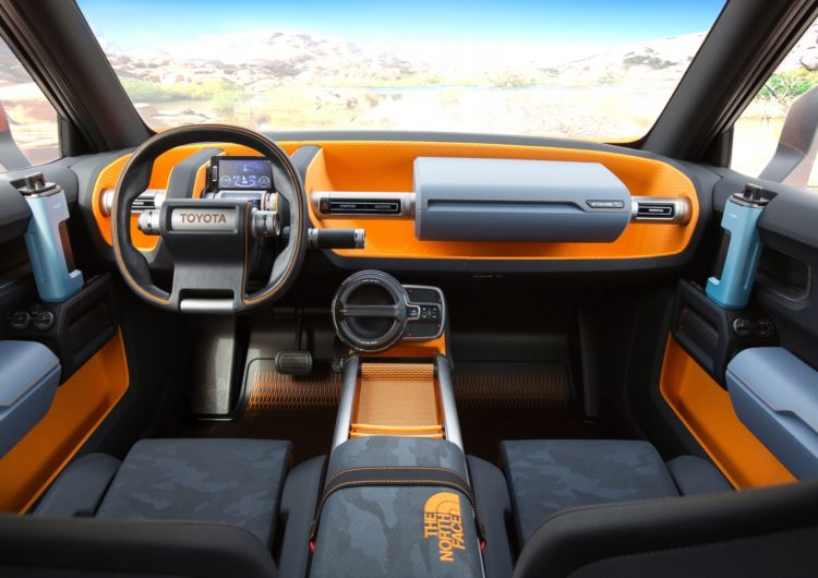 4x4Schweiz-News: Toyota FT-4X Concept Interior