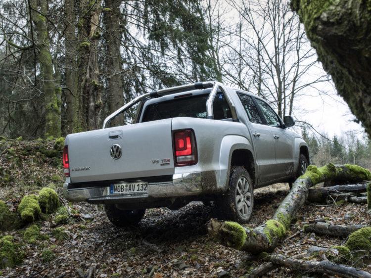 4x4Schweiz-Test: VW Amarok 4Motion V6 Offroad im Wald