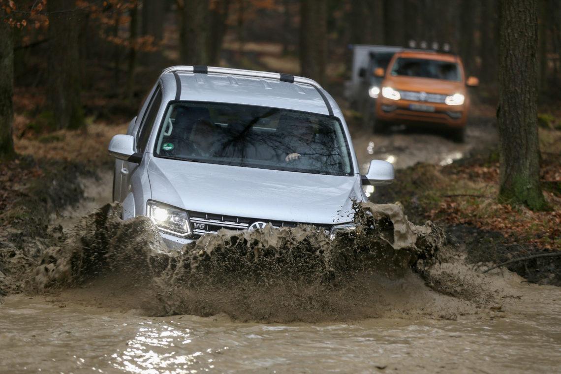 Die Nutzfahrzeuge von VW, der Allradantrieb (4Motion) wird immer beliebter