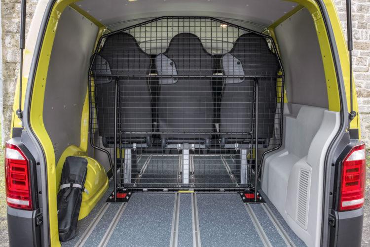 4x4Schweiz-Test: VW T6 Rockton 4Motion Stauraum