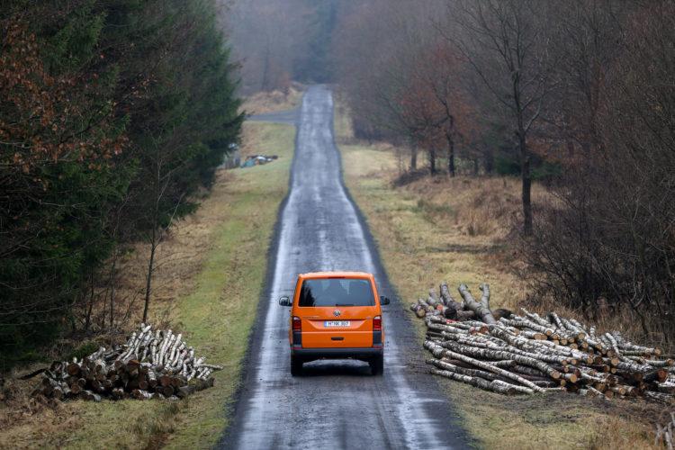 4x4Schweiz-Test: VW T6 Rockton 4Motion Offroad auf Waldweg